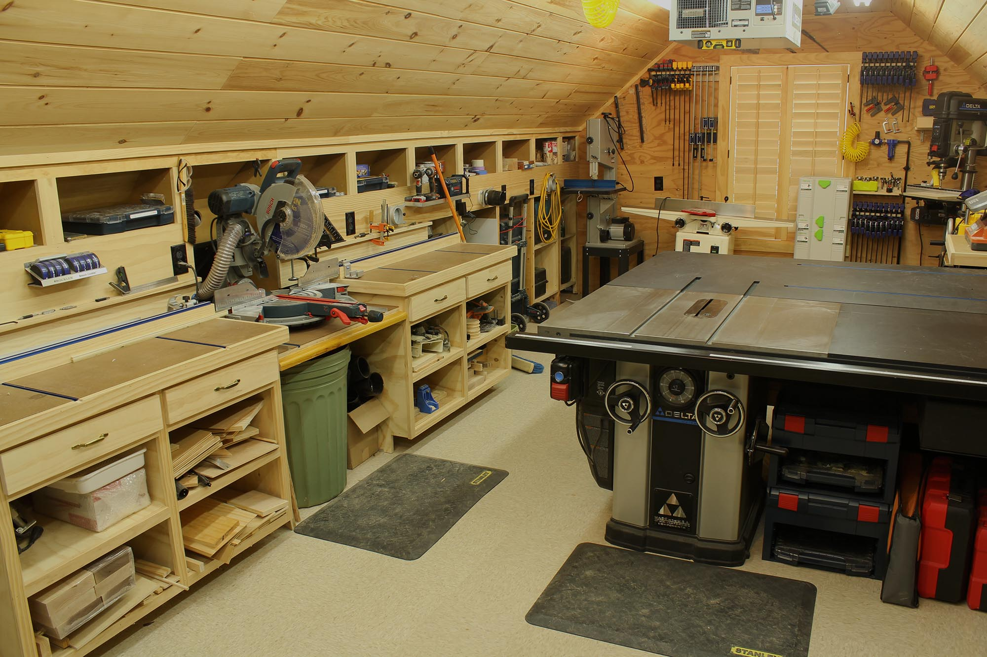 Woodwork shop