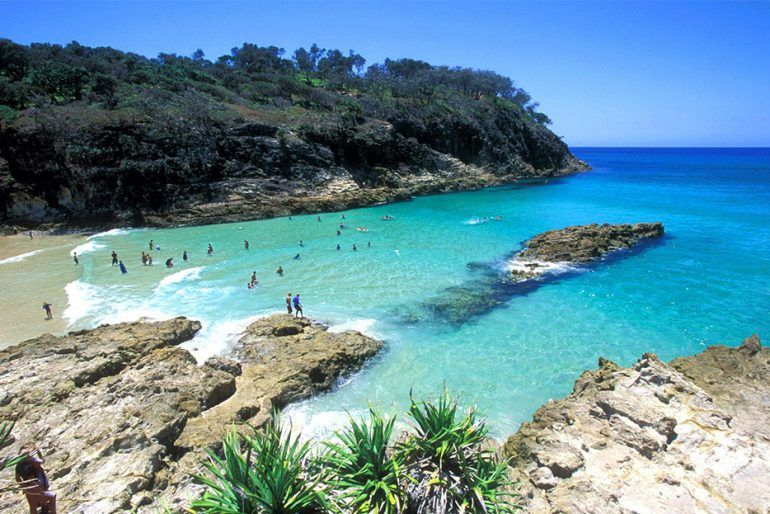 Stradbroke island Beaches