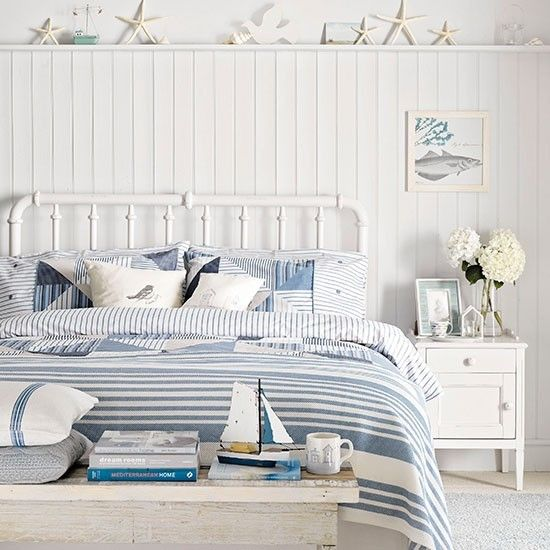 coastal themed bedroom